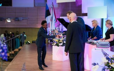 Percy Festus Alao  – The beauty of studying in Estonia